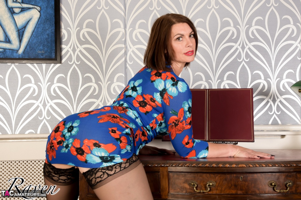 homemade submission of sexy mature sexretary raven from britain  #1