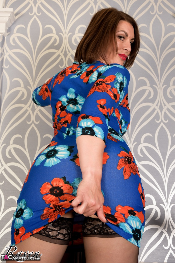 homemade submission of sexy mature sexretary raven from britain  #5