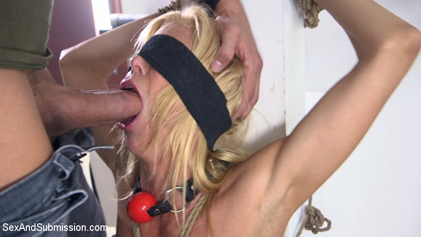 no  mercy from a bad cop for this busty slave mature milf #3