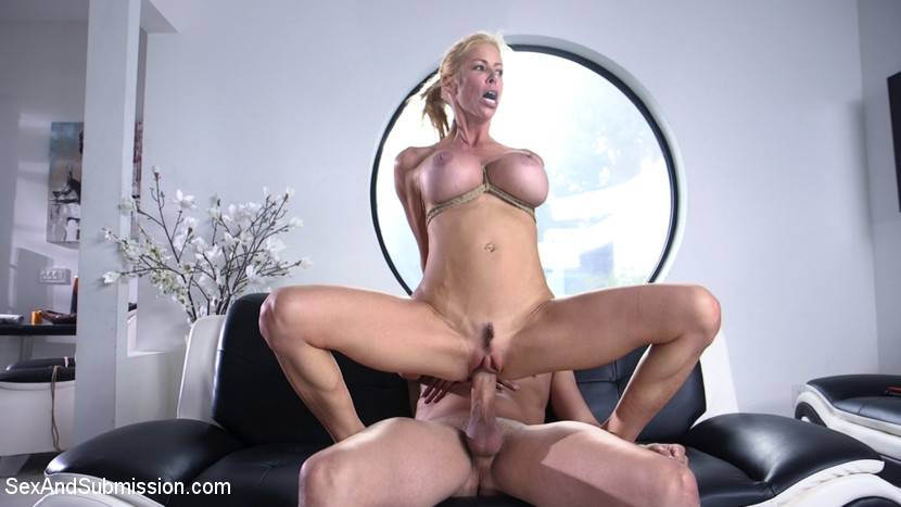 no  mercy from a bad cop for this busty slave mature milf #2