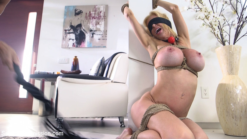 no  mercy from a bad cop for this busty slave mature milf #1