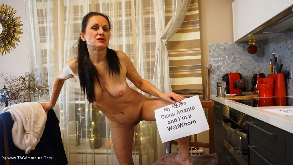 this mature, called Diana Ananta wants to be a public web and jerkoff slut #3