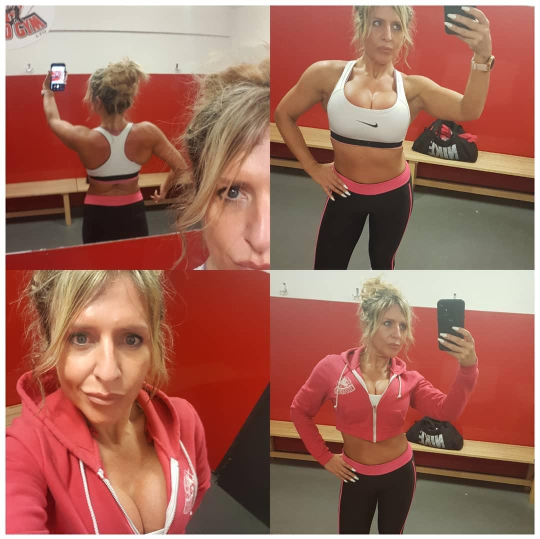 british soccer mom flaunting her stunning rack and fitness body picture 5