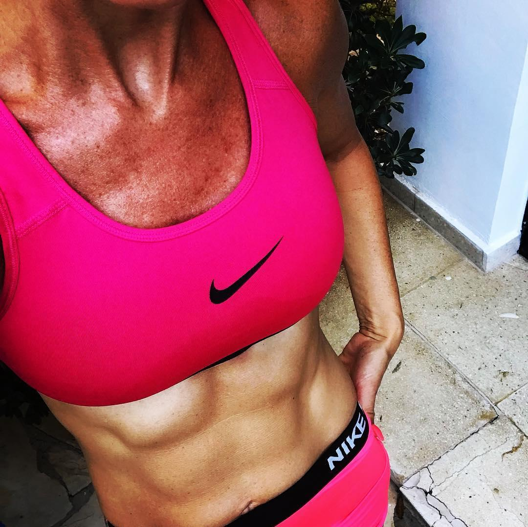 even after reaching her menopause, this sharp 40 year old trains her pelvic muscles daily. picture 12