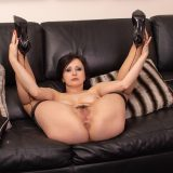 seductive rich 50 year old business woman shows her little hot cat picture 14