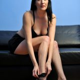 Nimfa from Anilso opens her beautiful legs wide open picture 9