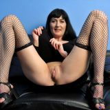 Nimfa from Anilso opens her beautiful legs wide open picture 7