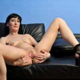Nimfa from Anilso opens her beautiful legs wide open picture 14
