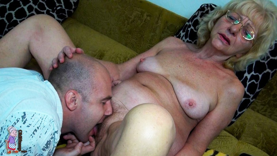 generous granny rewards grandson with skilful deepthroating  #6