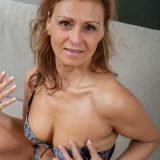 This slightly older hairy marriage bitch can turn your head with her oral sex skills picture 5