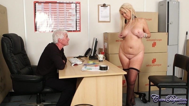 although she works really hard, this milf has to blow her boss to keep her job  #6