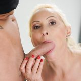 horny slightly older milf can be served in the wellness center of young toy boy picture 9