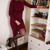 sexy mature upskirting with bookseller angie - aged 52 picture 6