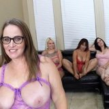 Trailer Park Insider: Out of sheer desperation, these old sluts convert to lesbian pussy eaters picture 5