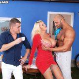 Shannon Blue's anal threesome - Shannon Blue, Matt Darco, and Steve Q (100 Photos) - 50 Plus MILFs picture 6