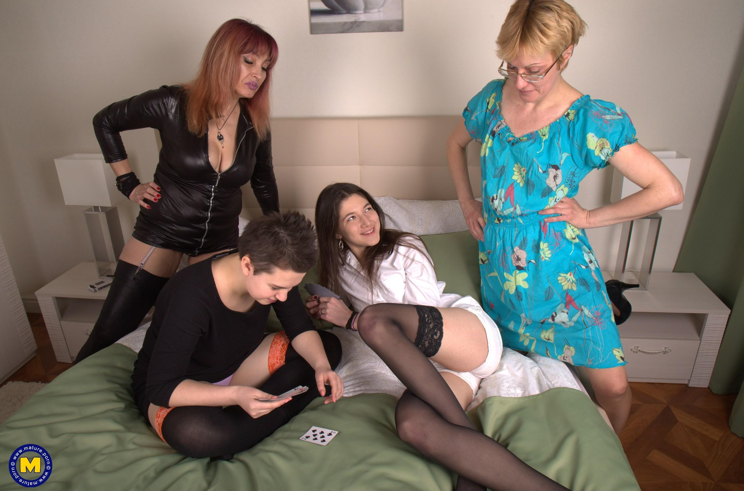 those old horny european matures - groupshoot picture 2