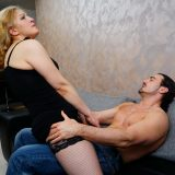 mature prostitute elvira doing home visits - lots of young guys admire her services picture 13