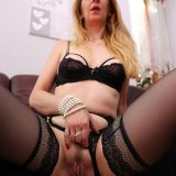 lonely quarantine mature helping herself out with self climax picture 9