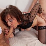 generous mature thanks for the care with a spontanious gangbang picture 14