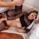 generous mature thanks for the care with a spontanious gangbang picture 11