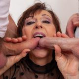 generous mature thanks for the care with a spontanious gangbang picture 10