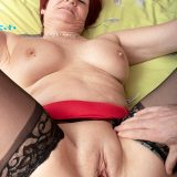 The horny 63-year-old and her step-son - Linda Storm and Alexei (50 Photos) - 60 Plus MILFs picture 14