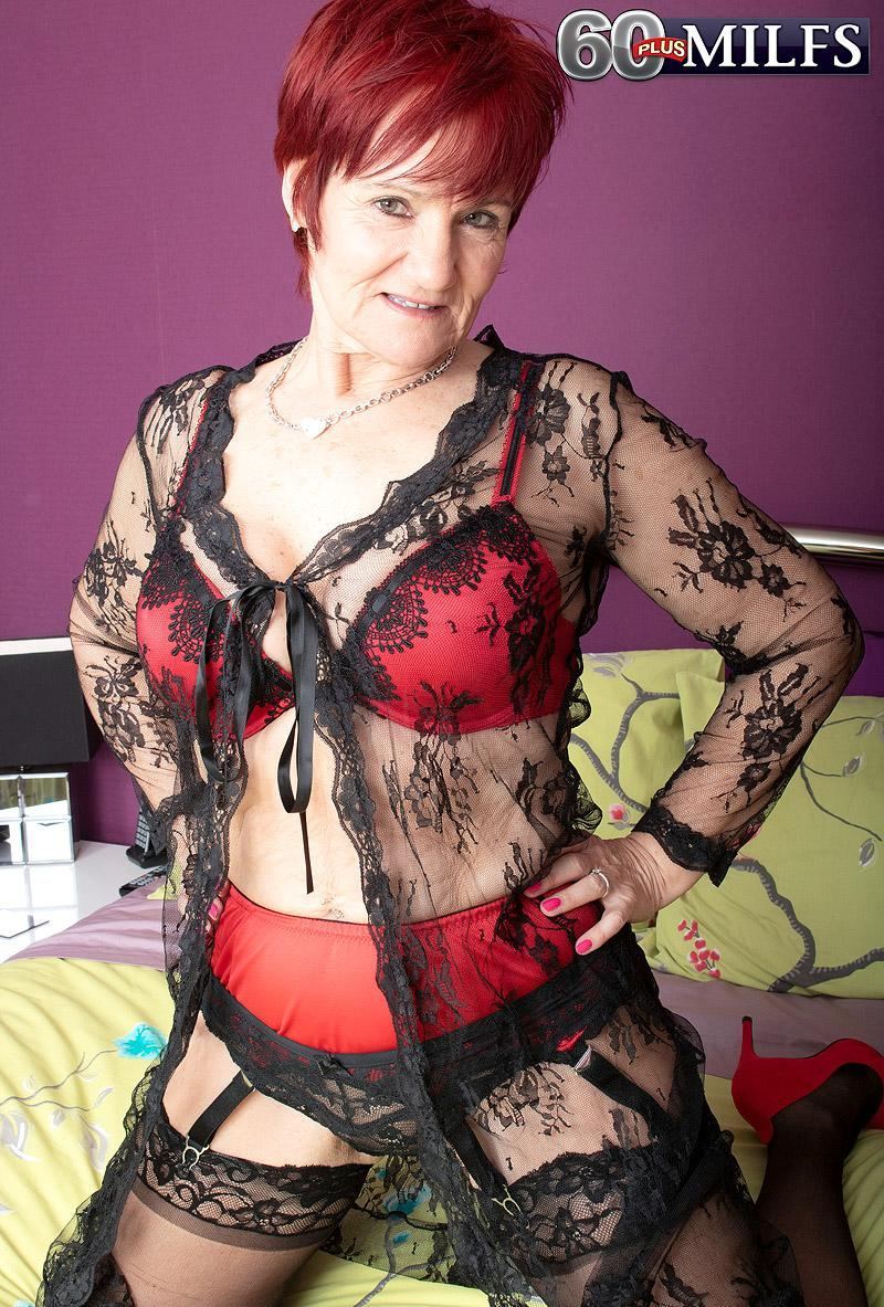 The horny 63-year-old and her step-son - Linda Storm and Alexei (50 Photos) - 60 Plus MILFs picture 2